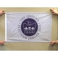 Platinum Jubilee Flag  5x3 / 152 x 91 cm