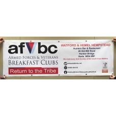 AFVBC PVC Banner
