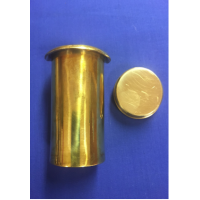 Competition brass 2-piece inset