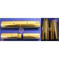 Replacement brass pole screw joints