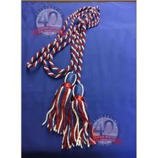 9ft RWB Banner Cord Tassels
