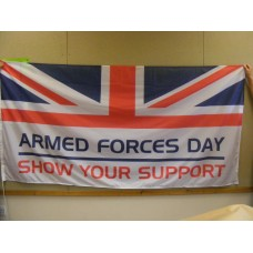 ARMED FORCES DAY - 3ft x 2ft