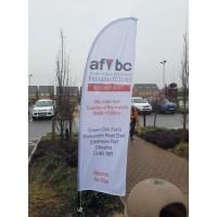 AFVBC Feather Flag - SMALL