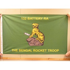 132 BTY RA (BENGAL TROOP) - 5ft x 3ft