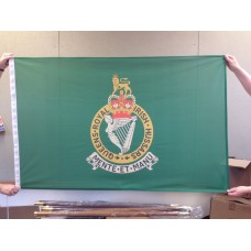 QUEENS ROYAL IRISH HUSSARS - 5ft x 3ft