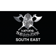 NEVER SURRENDER 3x2  SOUTH EAST