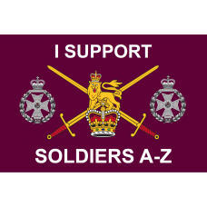 I Support Soldiers A-Z  [RGJ]  3' x 2' x 90x60cm