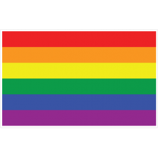 PRIDE FLAGS - 5ft x 3ft