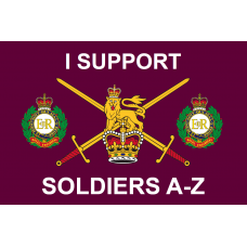 ROLLING THUNDER PT3 - THE LONG GOOD FRIDAY-  Official flag 3x2 ROYAL ENGINEERS