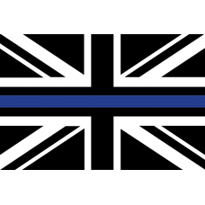 The THIN BLUE LINE (UJ) 3x2 Flag