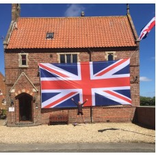 Union Flag  24ft x 12ft  / 731x355cm  PRINTED on KNITTED POLYESTER