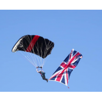 Union Flag  12ft x 6ft  / 366 x 183cm  PRINTED on KNITTED POLYESTER